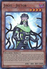 Jinzo - Jector - SECE-EN031 - Super Rare - Unlimited Edition