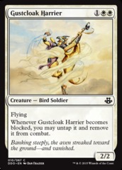 Gustcloak Harrier on Channel Fireball