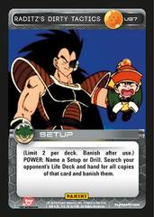 Raditz's Dirty Tactics - 97 - Foil