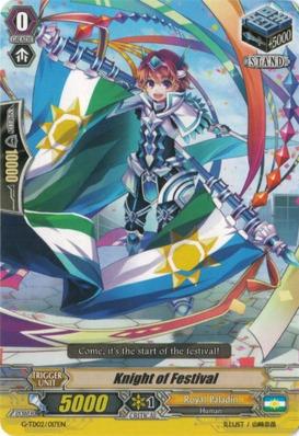Knight of Festival - G-TD02/017EN