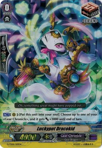 Luckypot Dracokid - G-TD01/019EN - TD - RRR