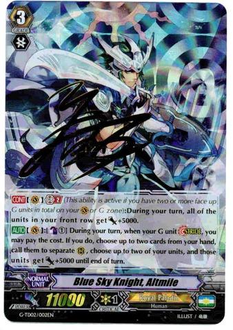 Blue Sky Knight, Altmile - G-TD02/002EN - TD - RRR Stamped