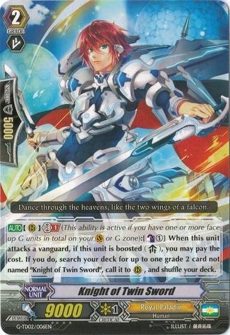 Knight of the Twin Sword - G-TD02/006EN (C)