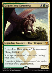 Dragonlord Dromoka on Channel Fireball