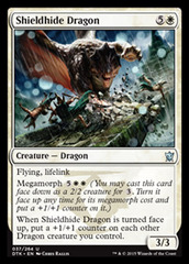Shieldhide Dragon - Foil