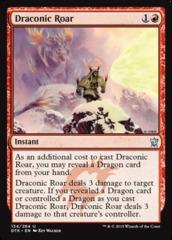 Draconic Roar - Foil
