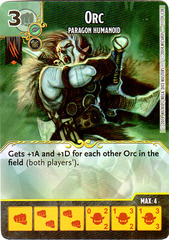 Orc - Paragon Humanoid (Die & Card Combo)