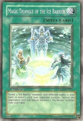 Magic Triangle of the Ice Barrier - TSHD-EN057 - Common - 1st Edition