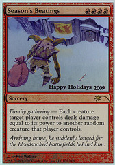 Season's Beatings - 2009 Holiday Foil