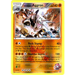 Team Magma's Aggron - 14/34 - Holo Rare - Reverse Holo