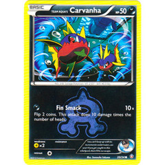 Team Aqua's Carvanha - 20/34 - Common