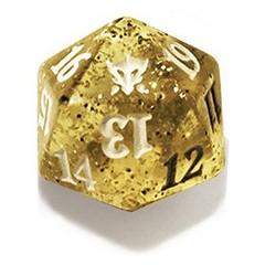Magic Spindown Die - Dragons of Tarkir Tarkir Dragonfury White (Yellow) on Channel Fireball