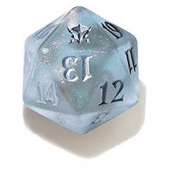 Magic Spindown Die - Dragons of Tarkir Tarkir Dragonfury Blue on Channel Fireball