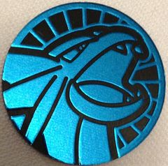 Blue Salamence Collectable Coin