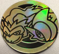 Gold Infernape and Gallade Coin