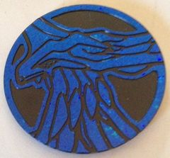 Blue Xerneas Collectable Coin