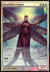 Deathless Angel (Rise of the Eldrazi Game Day) on Channel Fireball