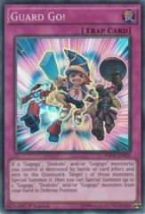 Guard Go! - WSUP-EN029 - Super Rare - 1st Edition