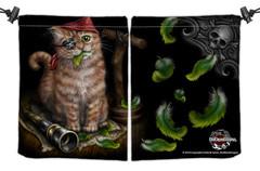 Pirate Kitten Dice Bag