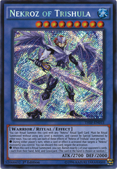 Nekroz of Trishula - THSF-EN015 - Secret Rare - Unlimited Edition