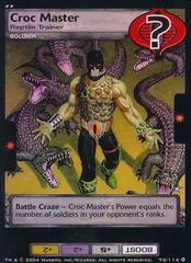 Croc Master, Reptile Trainer