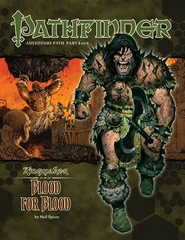 Pathfinder Adventure Path #34: Blood for Blood (Kingmaker 4 of 6)