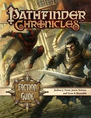 Pathfinder RPG Chronicles: Faction Guide