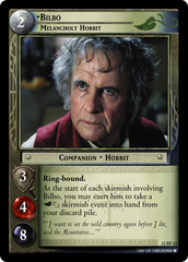Bilbo, Melancholy Hobbit (F)