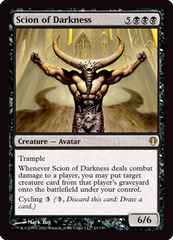 Scion of Darkness on Channel Fireball