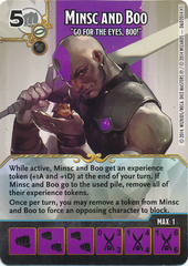 Minsc and Boo - Battle for Faerun Promo (Die & Card Combo)