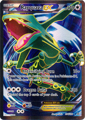 Rayquaza-EX - 104/108 - Full Art Ultra Rare
