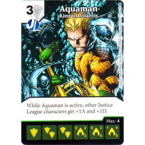 Aquaman - King of Atlantis (Die & Card Combo Combo)