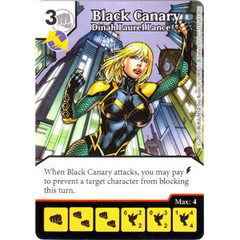 Black Canary - Dinah Laurel Lance (Die & Card Combo Combo)