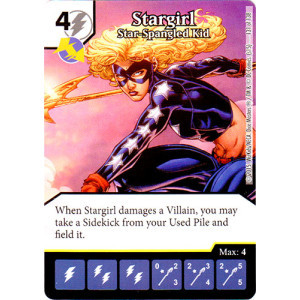 Stargirl - Star Spangled Kid (Die & Card Combo Combo)