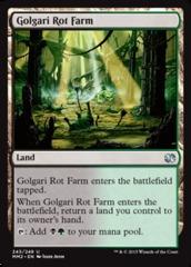 Golgari Rot Farm - Foil (MM2)