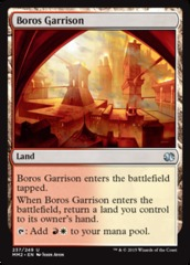 Boros Garrison - Foil on Channel Fireball