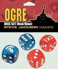 OGRE: Red/Blue D6 Dice Set