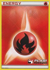 Fire Energy - Promotional - Crosshatch Play! Pokemon Promo