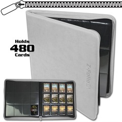 BCW Z-Folio 12-Pocket LX Album - White