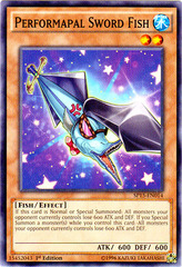 Performapal Sword Fish - SP15-EN014 - Common - 1st Edition