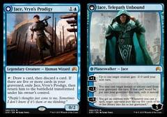 Jace, Vryn's Prodigy // Jace, Telepath Unbound - Foil
