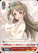 Kotori in Regular Clothes - LL/EN-W01-078 - U