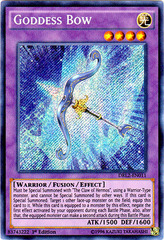 Goddess Bow - DRL2-EN011 - Secret Rare - 1st Edition