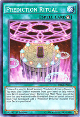 Prediction Ritual - DRL2-EN036 - Super Rare - 1st Edition