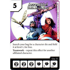 Assemble! - Basic Action Card (Die & Card Combo)