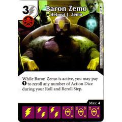 Baron Zemo - Helmut J. Zemo (Die & Card Combo)