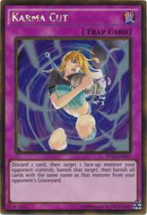Karma Cut - PGL2-EN067 - Gold Rare - Unlimited Edition