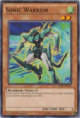 Sonic Warrior - SDSE-EN012 - Common - 1st Edition on Channel Fireball