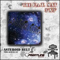 F.A.T. Mat: Asteroid Belt 3x3'