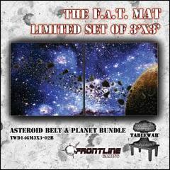 F.A.T. Mat: Asteroid Bundle 3x3' (Limited Edition)
